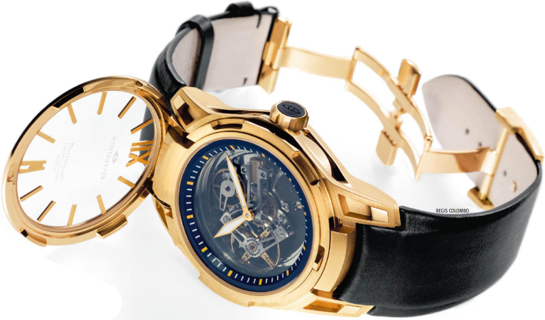 prototype de montre Henri Duvoisin